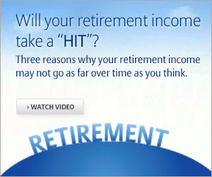 "Will your retirement income take a ""HIT""?"